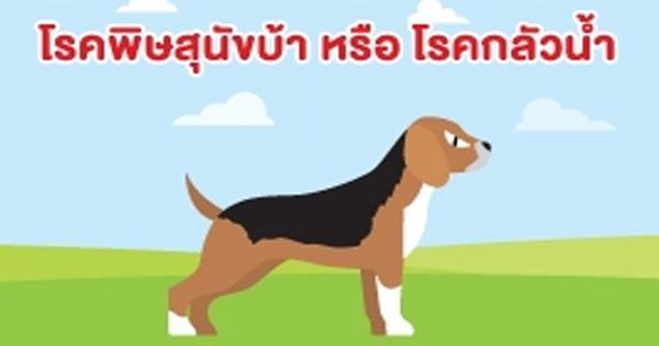 โรคพิษสุนัขบ้าหรือโรคกลัวน้ำ